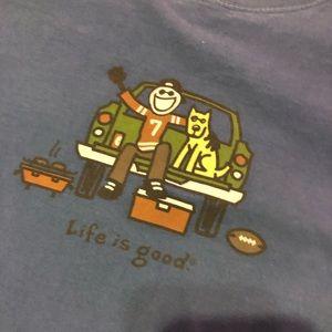 Life is good short sleeve